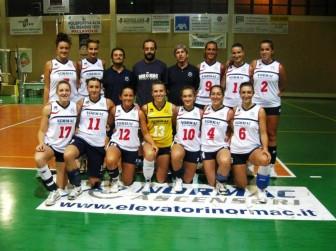 Le ragazze della Normac Avb in B2 femminile di pallavolo 2013-2014