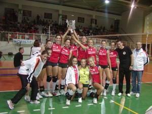 Le giovani atlete della Serteco Volley School