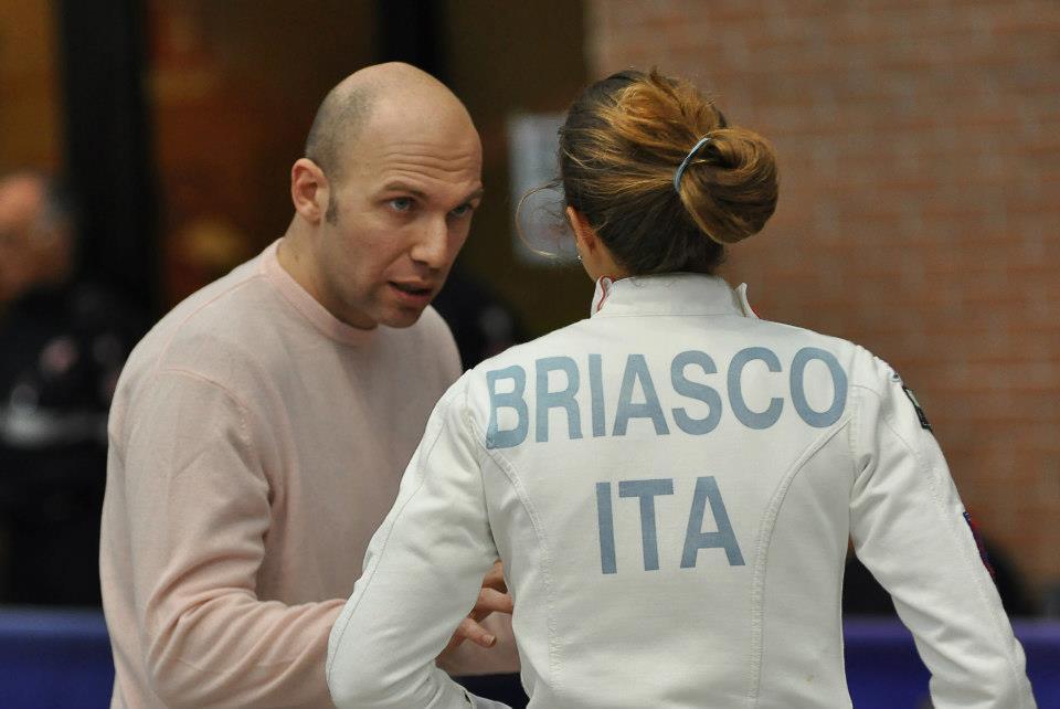 Paolo Zanobini insieme a Brenda Briasco