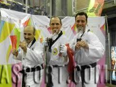 Un podio tutto ligure ai master di Taekwondo