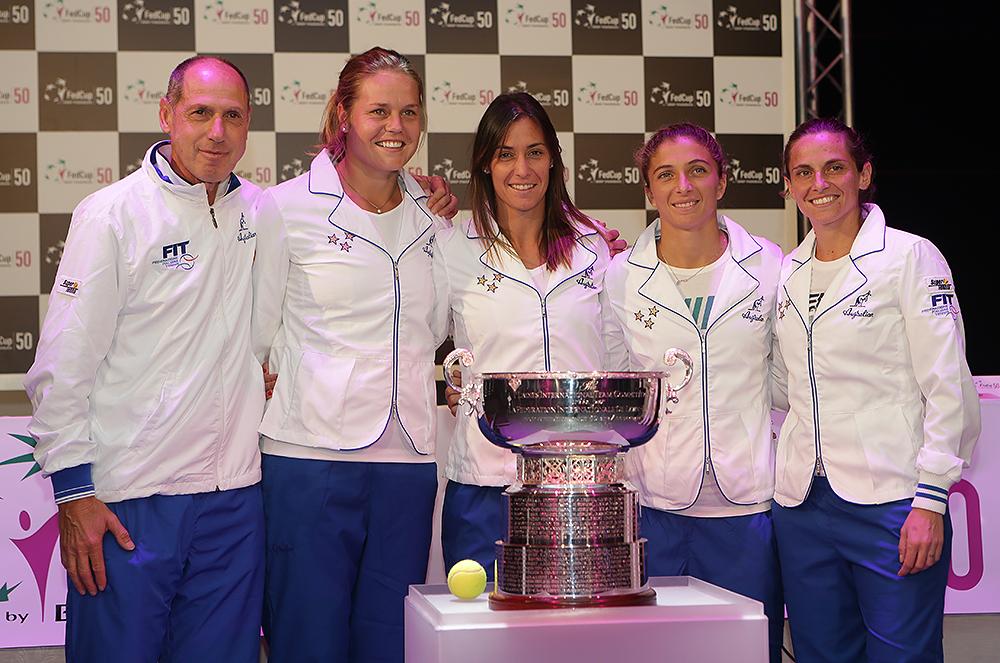 Fed Cup Italia a Genova nel 2015