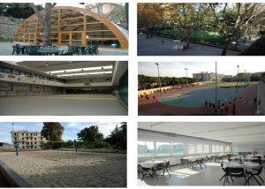 La polisportiva ABG possiede campi da tennis, calcio a cinque, beach volley, atletica e bocce.