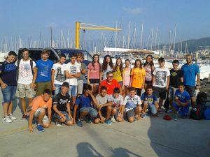 Sampierdarenesi canottaggio: la squadra giovanile