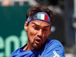 Ranking ATP: Fognini al nono posto