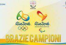 Il Grazie della Regione ai protagonisti di Rio