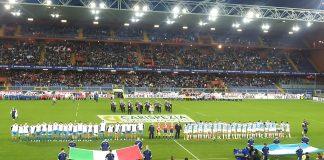Il Ferraris di Genova prima del match di rugby tra Italia e Argentina