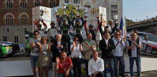 Il podio 2015 del Rally della Lanterna