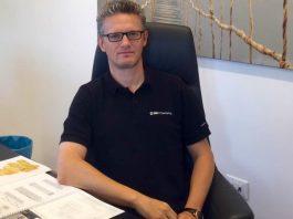 Il presidente Matteo Fortuna, 45 anni, noto broker marittimo genovese
