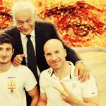 Bocciardo e Podestà assieme a Cuozzo (CIP Liguria)