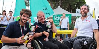 Enrico Carrea, vincitore dei Tricolori Hansa 303