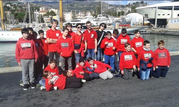 La Canottieri Sabazia ai Regionali di Sanremo