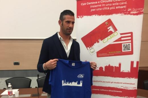 Alessandro Puggioni e la CUS Card