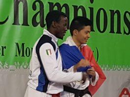 Pape Sherif Ba porta Marcelline Genova Sport sul podio europeo