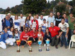 La Liguria a Eupilio per l'Europeo di Jole e Gozzi