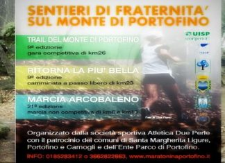La locandina del Trail di Portofino