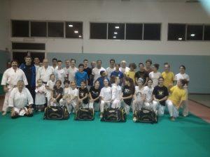 Karate Club Savona: un gruppo di atleti