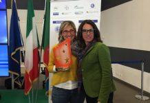 Patrizia Giallombardo assieme all'assessore Cavo