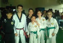 I cadetti della Lanterna Taekwondo a Gallarate