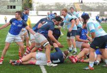 Un momento del derby tra CUS Genova e Pro Recco