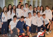 La squadra di Salvamento della Genova Nuoto