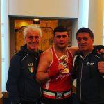 Ervis Lala assieme ai tecnici Enzo e Paolo Celano