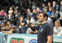 L'allenatore della Pro Recco, Vujasinovic
