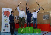 Il podio della classifica generale del Memorial Bianchi