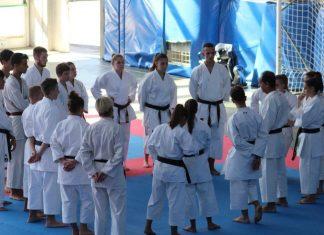 Raduno Karate Fiam con Lillo Cinque e gli azzurri