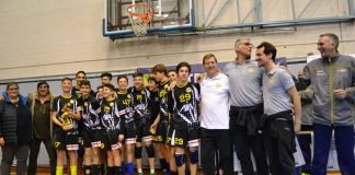 L'Under 14 della Colombo Volley Genova
