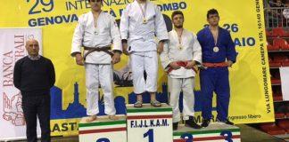Lorenzo Rossi sul podio del Città di Colombo