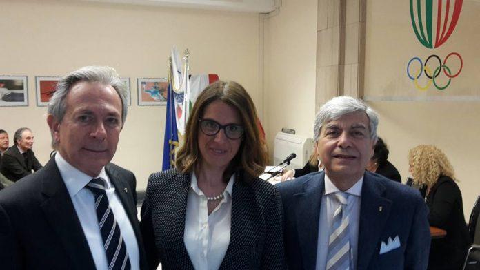 Ilaria Cavo tra Vittorio Ottonello e Antonio Micillo