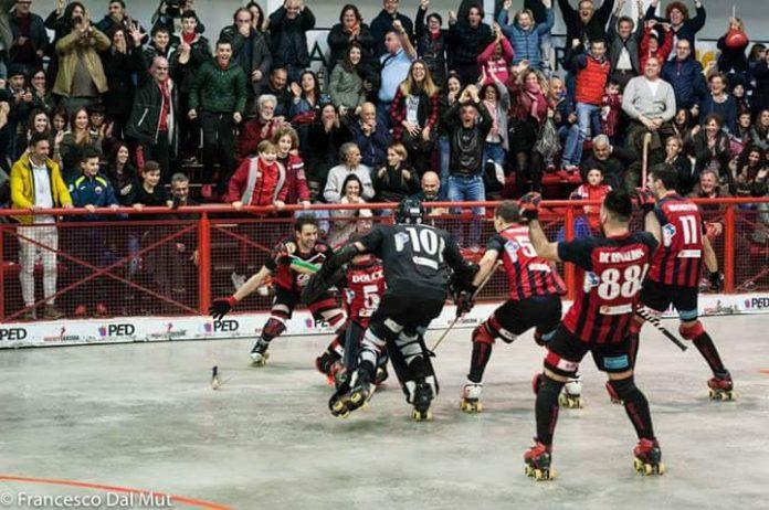 Festa Carispezia Sarzana dopo la qualificazione alla Final Four di Coppa Cers