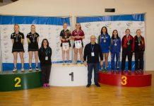 Il podio del doppio all'Open d'Italia con Valentina Roncallo