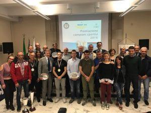Festa grande al Salone del Coni per la premiazione dell'Automobile Club Genova