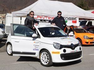 Gianluca Caserza al Trofeo Renault Twingo R1