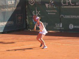 Una tennista del Park Genova
