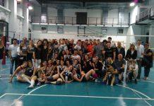 Il gruppo dell'Albaro Volley