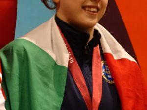 La chiavarese Veronica Braschi terza agli Europei di Belgrado