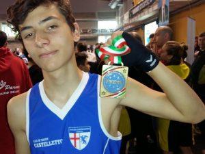 Savate Castelletto 4 volte medagliata ai Tricolori di Riccione