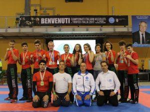 Pioggia di medaglie per l'Ecole de Savate ai Tricolori di Riccione