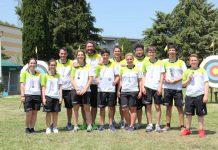 Il gruppo dei medagliati degli Arcieri Sarzana