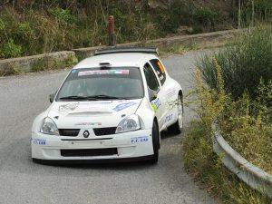 Due piloti Lanterna Corse Rally Team al Rally Golfo dei Poeti