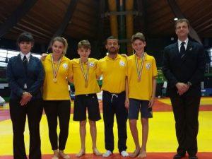 Lino Team doppiamente d'oro ai Tricolori Fijlkam di Ostia