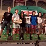 Le prime classificate della Borgo Night Run