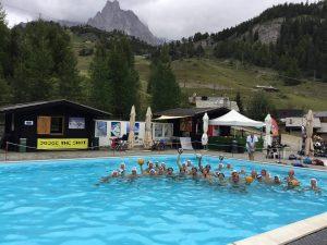 L'AlbaroNervi porta la Pallanuoto sul Monte Bianco