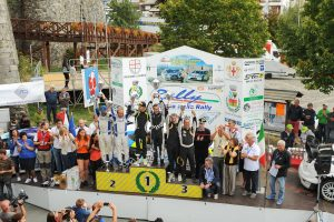 La premiazione del 33° Rally della Lanterna