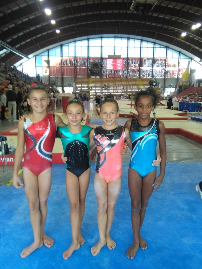 Le ginnaste liguri al criterium nazionale di Perugia
