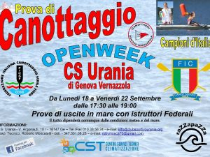 Lunedì prossimo partono gli Open Day all'Urania