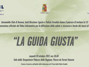 """In Regione Liguria venerdì si presenta la """"La Guida Giusta"""""""