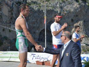 Liguria medagliata ai Tricolori di Coastal Rowing